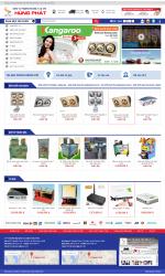 Thiết kế web giá rẻ điện máy