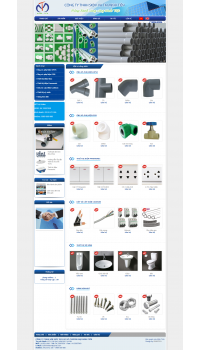 Thiết kế web giá rẻ vật liệu xây dựng