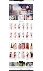 Thiết kế web giá rẻ bán đồ lót