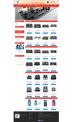 Thiết kế web giá rẻ bán gas, bếp gas