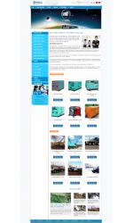 Thiết kế web giá rẻ máy phát điện