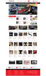 Thiết kế web giá rẻ phụ tùng ô tô