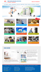 Thiết kế web giá rẻ sửa chữa điều hòa