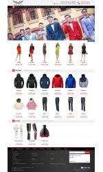 Web giá rẻ thời trang nữ