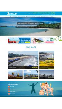 Thiết kế web giá rẻ du lịch tại Hà Nội