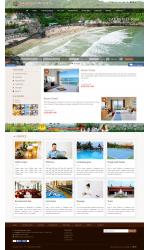 Thiết kế web giá rẻ resort, khu nghỉ dưỡng