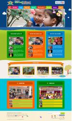 Thiết kế web giá rẻ trường tiểu học