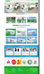Thiết kế web giá rẻ bán dụng cụ thí nghiệm