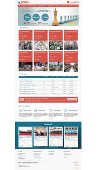 Thiết kế web giá rẻ xuất khẩu lao động