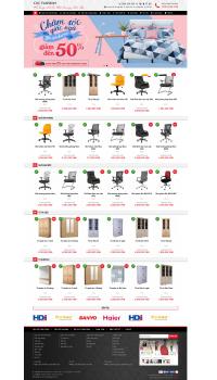 Web giá rẻ bán đồ nội thất, văn phòng