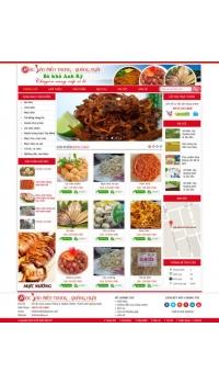 Thiết kế web giá rẻ bán đặc sản