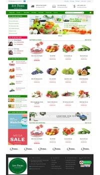 Thiết kế web giá rẻ bán hàng tết