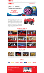 Thiết kế web giá rẻ biển quảng cáo