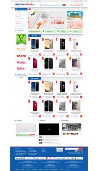 Thiết kế web giá rẻ điện thoại