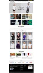 Thiết kế web giá rẻ đồng phục công sở