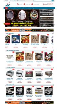 Thiết kế web giá rẻ dụng cụ nhà bếp