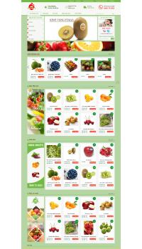 Thiết kế web giá rẻ hoa quả nhập khẩu