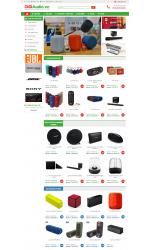 Thiết kế web giá rẻ thiết bị giải trí