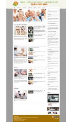 Thiết kế web giá rẻ trung tâm dưỡng lão