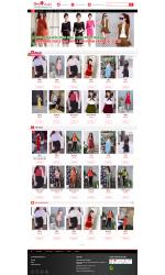 Thiết kế web giá rẻ xưởng may thời trang, đồng phục