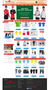 Thiết kế web giá rẻ áo đôi, áo gia đình, đồng phục