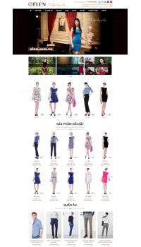 Thiết kế web giá rẻ váy nữ