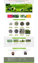 Thiết kế web giá rẻ bán chè xanh