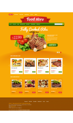 Thiết kế web giá rẻ bán đồ ăn vặt