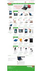 Thiết kế web giá rẻ bán máy vi tính, linh kiện, phụ kiện