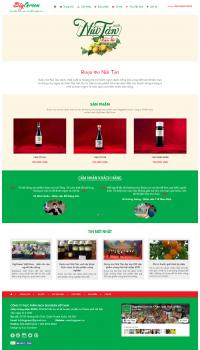 Thiết kế web giá rẻ bán rượu