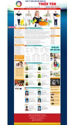 Thiết kế web giá rẻ giúp việc