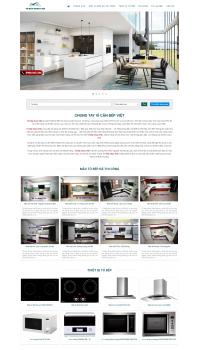 Thiết kế web giá rẻ phụ kiện nhà bếp