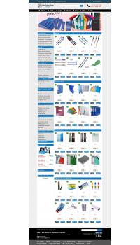 Thiết kế web giá rẻ văn phòng phẩm