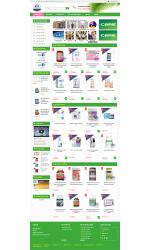 Thiết kế web giá rẻ sữa bột, sữa trẻ em