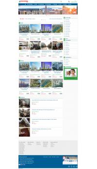 Web giá rẻ bất động sản nhà đất