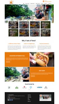 Thiết kế web giá rẻ du lịch