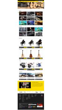 Thiết kế web giá rẻ âm nhạc