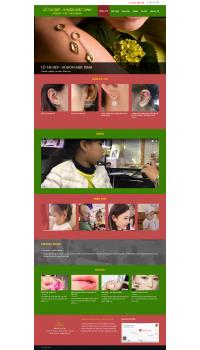 Thiết kế web giá rẻ bấm lỗ tai