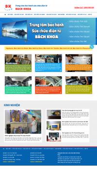 Thiết kế web giá rẻ điện lạnh