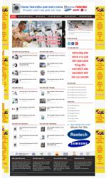 Thiết kế web giá rẻ sửa chữa máy giặt