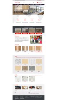 Thiết kế web giá rẻ bán gạch men