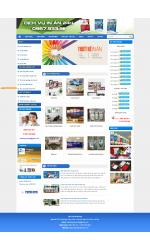 Thiết kế web giá rẻ in ấn