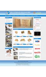 Thiết kế web giá rẻ bao bì