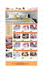 Thiết kế web giá rẻ bán chăn đệm điện
