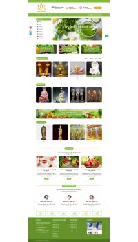 Thiết kế web giá rẻ rau - củ - quả