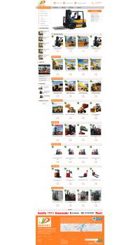Thiết kế web giá rẻ thiết bị nâng