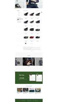 Thiết kế web giá rẻ dây lưng, ví da
