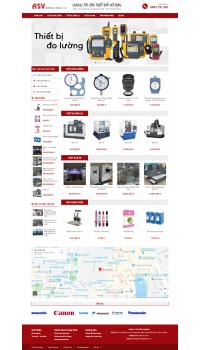 Thiết kế web giá rẻ thiết bị đo lường
