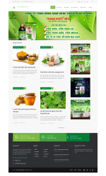 Thiết kế web giá rẻ nhà thuốc