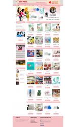 Thiết kế web giá rẻ bán hàng xách tay